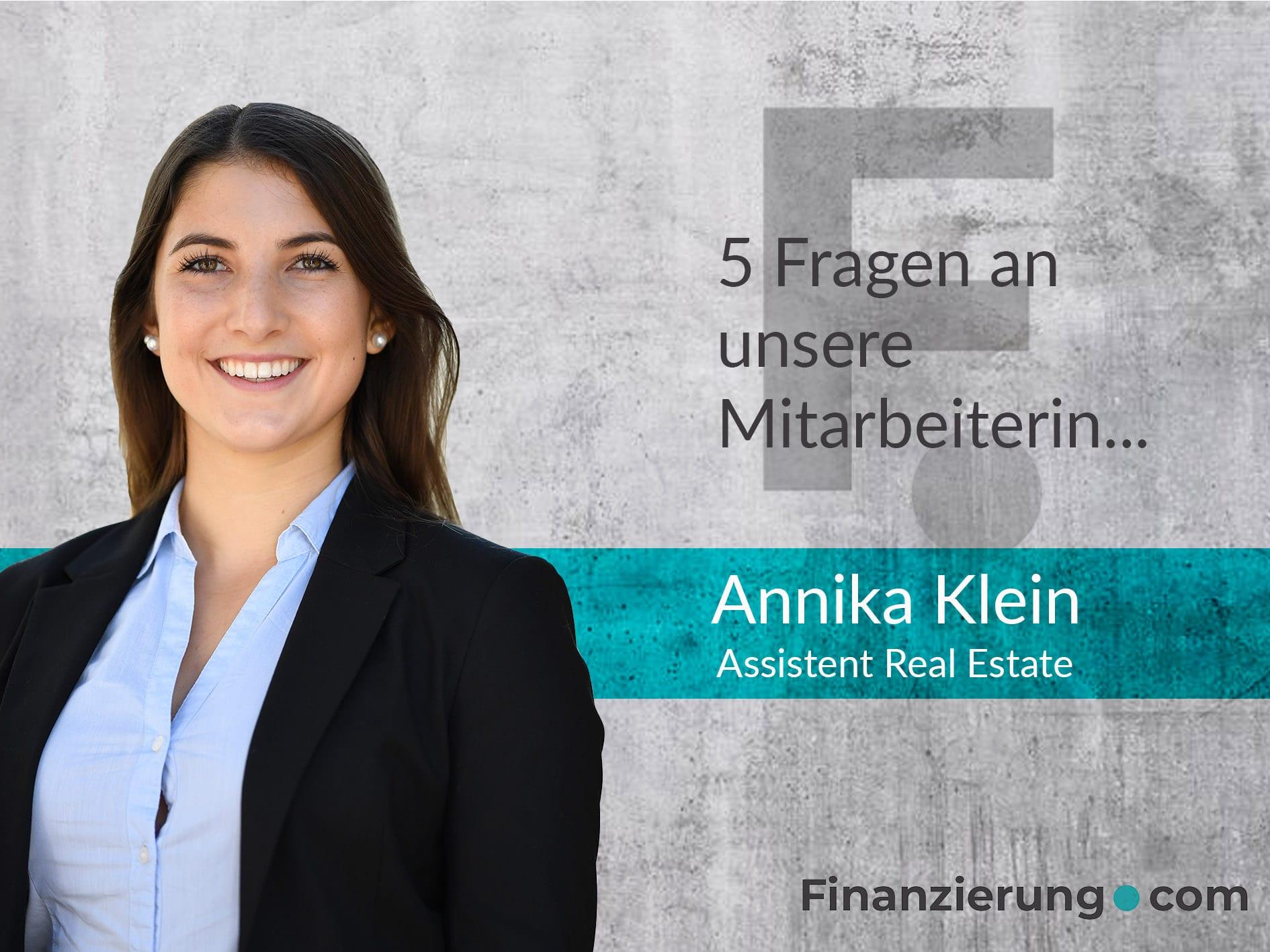 Annika Klein Interview