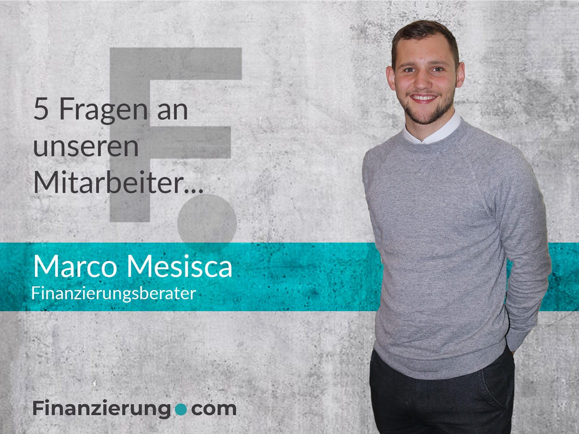 Marco Mesisca Vorstellung