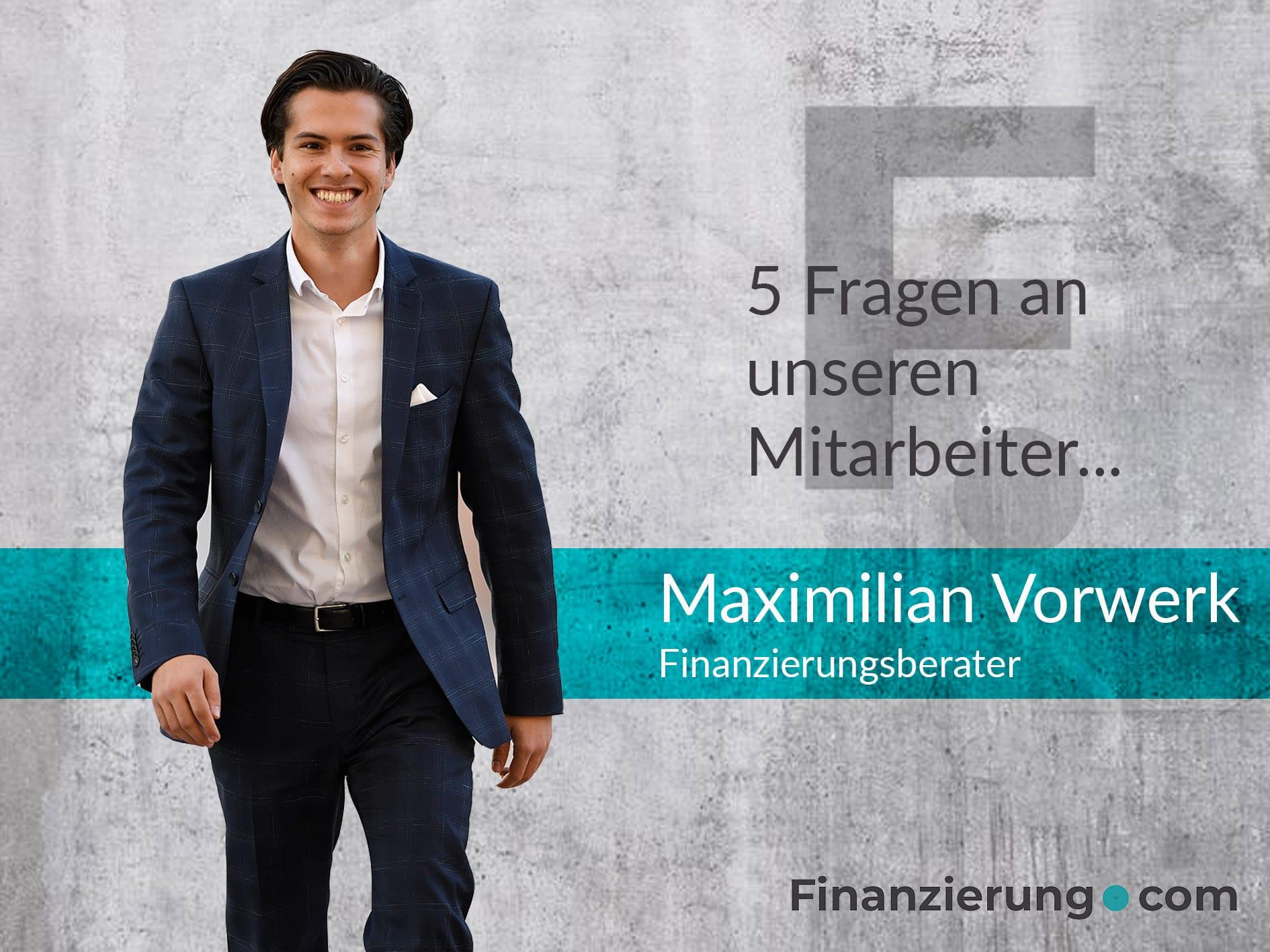 Maximilian Vorwerk Interview
